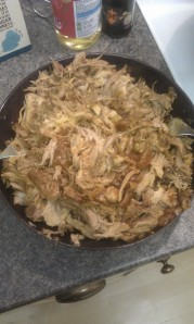Pulled pork without sauce