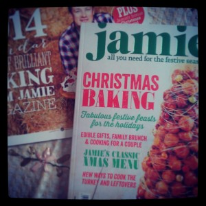 Jamie Oliver Christmas magazine