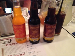 Dominion craft sodas The Common Room Sheffield