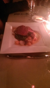 Beef fillet at Rafters Restaurant Sheffield