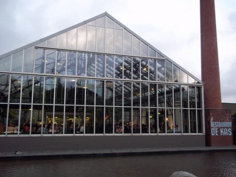 De Kas restaurant, Amsterdam.