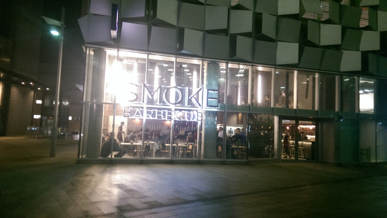 Smoke BBQ Sheffield - frontage