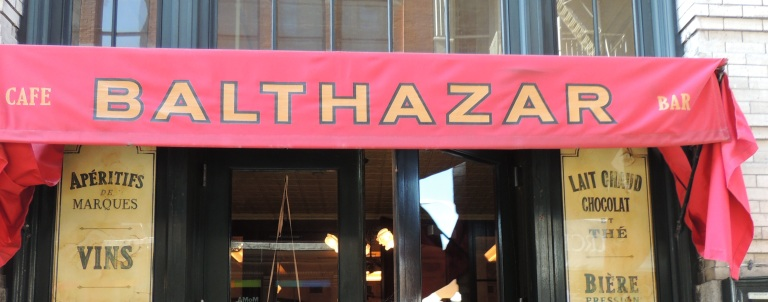 Balthazar Restaurant, New York City