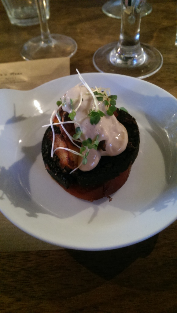 Dish 1: Spain - chorizo, morcilla, bravas potatoes and aioli
