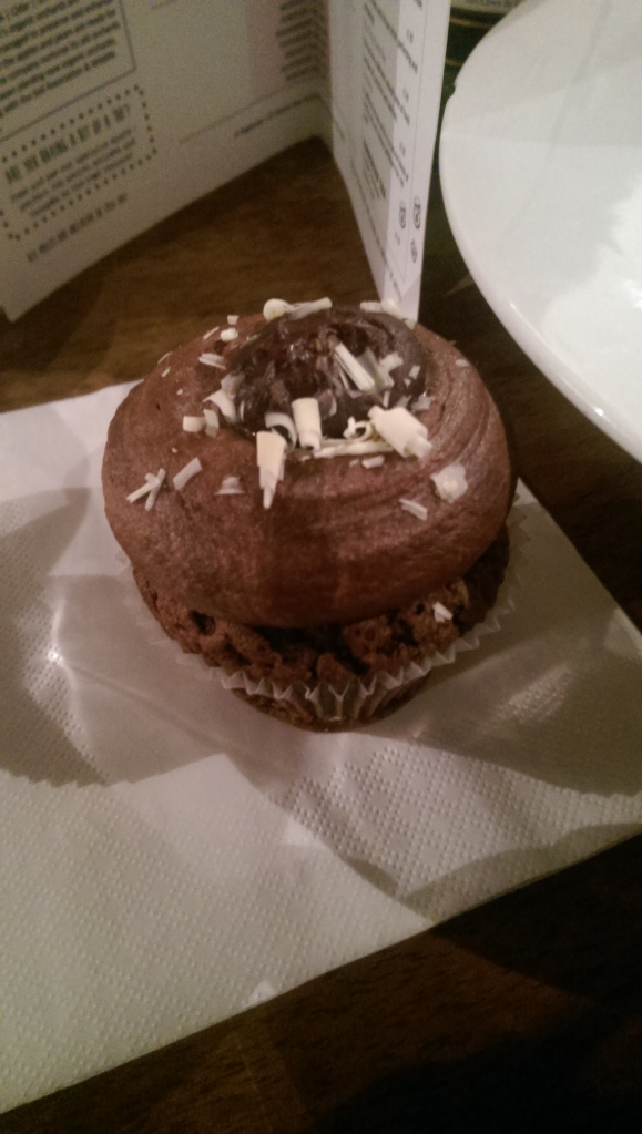 Dish 7: Sheffield - Fancie chocolate cupcake