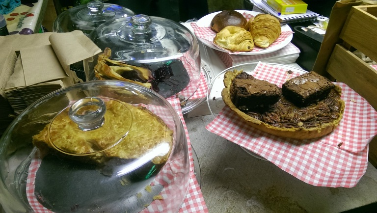 Homemade cakes and bakes at Lucky Fox