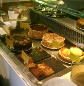 Cakes at Kipferl, Islington.