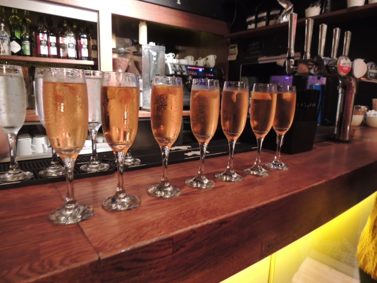 Starting with a fizz