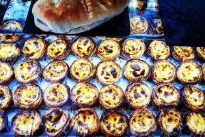 Portuguese custard tarts (pasteis de nata) at Lisboa Sheffield