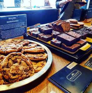 cookies and brownies at Bullion, Sheffield